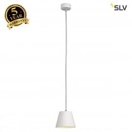 SLV 148041 PLASTRA CONE pendant, whiteplaster, trapezoid, GX53, max.11W