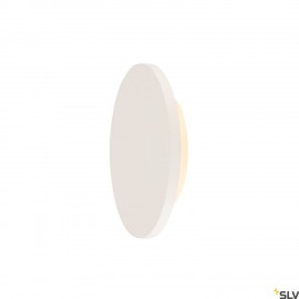 SLV 148091 PLASTRA, wall light, LED, 3000K, round, white plaster, Ø 30cm