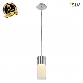 SLV 149380 COMMO pendant, PD-1, round,partially frosted glass, GX53,max. 13W