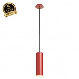 SLV 149386 ENOLA pendant, round, red, E27, max. 60W