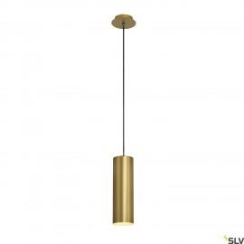SLV 149387 ENOLA pendant, round, gold,E27, max. 60W