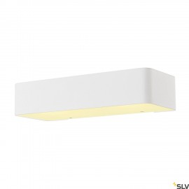 SLV 149471 Wall light, WL 149 R7s,rectangular, matt white, R7s78mm, max. 60W, up/down