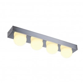 SLV 149702 VAYNISSA wall and ceilinglight, chrome, 4x 4.4W SMD LED, 2700K, incl. driver