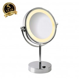 SLV 149792 VISSARDO table light, makeupmirror, chrome/glass, SMD LED3000K