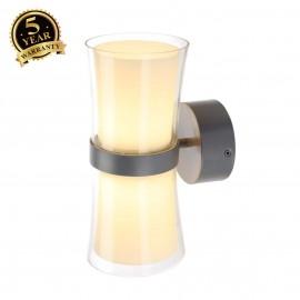 SLV 150644 RETO wall light, LED, mousegrey