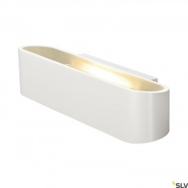SLV 151411 OSSA R7s 300 LED wall light,oval, white, R7s 118mm, max.120W, up/down