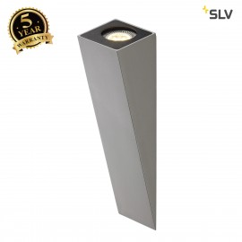 SLV 151564 ALTRA DICE WL-2 wall light,silver-grey, GU10, max. 50W