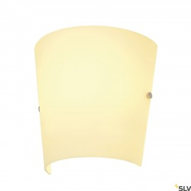 SLV 151591 BASKET wall light, E27, max.60W, glass