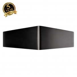 SLV 151730 BIG CARISO LED wall light 1,black/ brass 2x 9W LED, 3000K