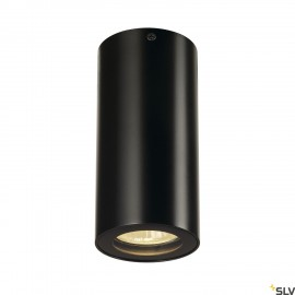 SLV 151810 ENOLA_B ceiling light, CL-1,black, GU10, max. 35W