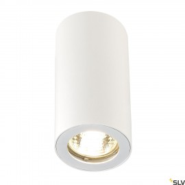 SLV 151811 ENOLA_B ceiling light, CL-1,white, GU10, max. 35W