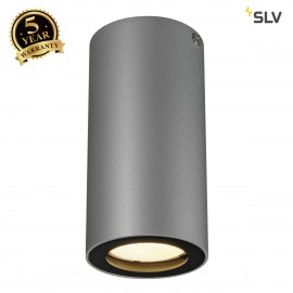 SLV 151814 ENOLA_B ceiling light, CL-1,silver-grey/black, GU10, max.35W