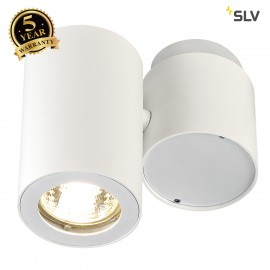 SLV 151821 ENOLA_B SPOT 1 wall andceiling light, single, white,GU10 , max. 50W