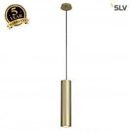 SLV 151853 ENOLA_B pendant, PD-1, brass,GU10, max. 50W