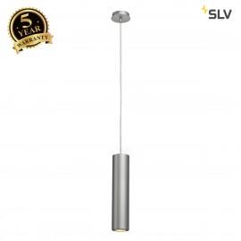 SLV 151854 ENOLA_B pendant, PD-1,silver-grey/black, GU10, max.50W