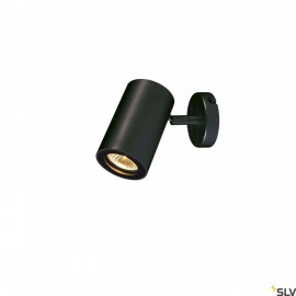 SLV 152010 ENOLA_B wall and ceiling spot,single, black, GU10, max. 50W