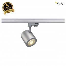 SLV 152434 ENOLA_C 9 SPOT, round,silver-grey, 9W, 3000K, 55°,incl. 3-circuit adapter