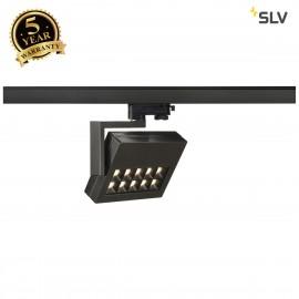 SLV 152550 PROFUNO LED SPOT, black, 3000KLED, 60°, incl. 3-circuitadapter