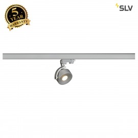 SLV 152604 KALU TRACK LEDDISK lamp head,silver-grey, 3000K, incl.3-circuit adapter