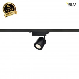 SLV 152620 SUPROS TRACK 3000 SPOT, black,3000K SLM LED, 60°, incl.3-circuit adapter