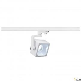 SLV 152781 EURO CUBE SPOT, white, 60°,4000K COB LED, CRI90, incl.3-circuit adapter