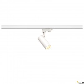 SLV 152961 HELIA 50 LED Spot for 3 Phase High-voltage Tracksystem, 3000K, white, 35°, incl. 3 Phase adapter