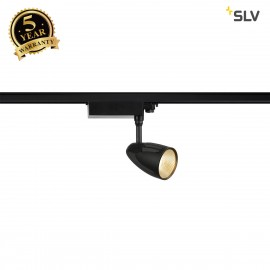 SLV 153250 SPOT T LED, black, 35W, 3000K,incl. 3-phase adapter