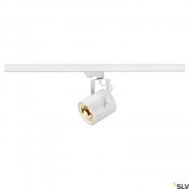 SLV 153421 EURO SPOT ES111, round, white,GU10, max. 75W, incl. 3-circuit adapter
