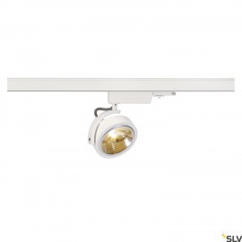 SLV 153581 KALU TRACK QRB111, white, max.50W, incl. 3-circuit adapter