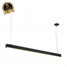 SLV 155120 Q-LINE SINGLE LED, pendant,1500mm, black