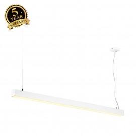 SLV 155131 Q-LINE DALI SINGLE LED,pendant, dimmable, 1500mm,white