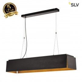 SLV 155970 AVENTO 110 PD, LED Indoor pendant light, black/gold, 3000K