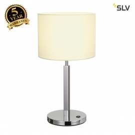 SLV 156041 TENORA table lamp, TL-1, white, E27, max. 60W