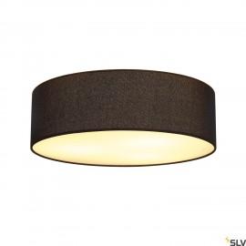 SLV 156050 TENORA ceiling light, CL-1,black, E27, max. 60W