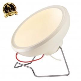 SLV 156321 I-RING floor light, round,matt white, 2x 7W SMD LED,3000K, incl. driver