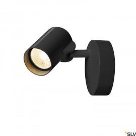 SLV 156500 HELIA LED Single Wall and Ceiling luminaire, 3000K, 35°, black