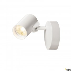 SLV 156501 HELIA LED Single Wall and Ceiling luminaire, 3000K, 35°, white