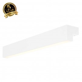 SLV 157431 L-LINE 60 LED, wall andceiling light, IP44, 3000K,1500lm, white