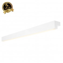 SLV 157441 L-LINE 120 LED, wall andceiling light, IP44, 3000K,3000lm, white