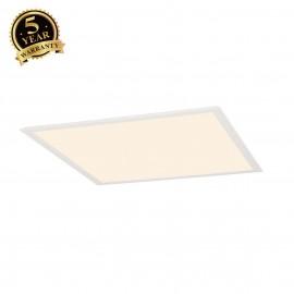 SLV 158602 LED PANEL recessed ceilinglight, white, 230V, 2700K,595x595mm