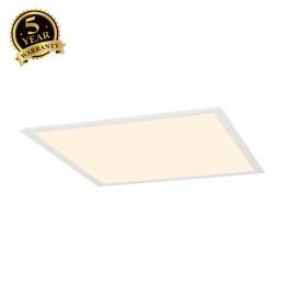 SLV 158603 LED PANEL recessed ceilinglight, white, 230V, 3000K,595x595mm