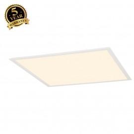 SLV 158613 LED PANEL for grid ceilings,white, 230V, 3000K, 620x620mm