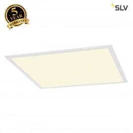 SLV 158714 I-VIDUAL LED PANEL for gridceilings, 620x620mm, mattwhite, 4000K