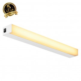 SLV 160181 SIGHT LED, wall and ceilinglight, with switch, 600mm,white