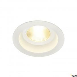 SLV 161291 CONTONE downlight, rigid,round, white, 13W LED, warmwhite