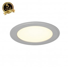SLV 162743 SENSER recessed ceiling light,round, silver-grey, 10W SMDLED, 120°, 3000K