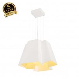 SLV 165461 SOBERBIA pendant, square,white, 144 SMD LED, 2700K