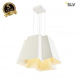 SLV 165471 SOBERBIA 53 LED Pendant, square, white, 38W, 2700K, 4000lm