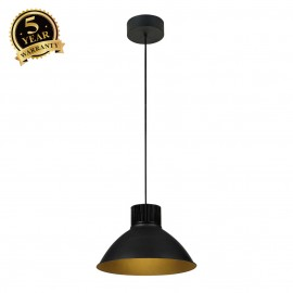 SLV 165610 PENTULI pendant 38, big, black, 43W COB LED, 3000K, incl.driver