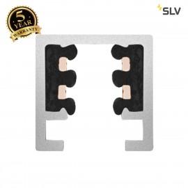 SLV 172011 TRACK, for D-TRACK 240V 2-circuit track system, white, 1m